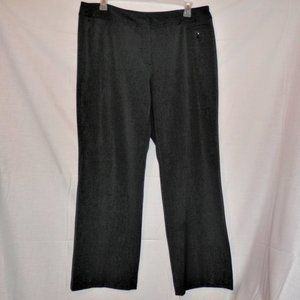 Atelier Luxe 16W Black Dress Pants Trousers H612